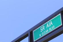 SR A1A N Ocean Blvd Sign