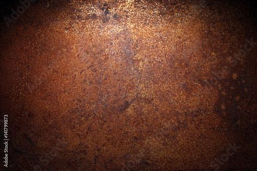 Fototapeta Dark rust background