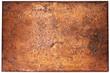canvas print picture - Dark rust background
