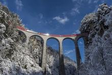 Viaduct Landwasser- Grigioni ,Switzerland