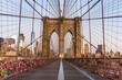 Brooklyn Bridge early morning