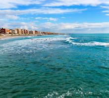 The Beach Of Ostia, Italy