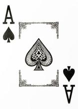 Large Index Playing Card Ace O...