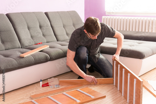Picture How Man Made Furniture In The Living Room Hard Work Manager Desperate