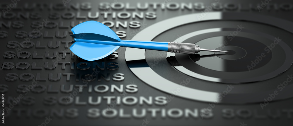 Fototapeta Business or Marketing Consulting, Creative Solutions