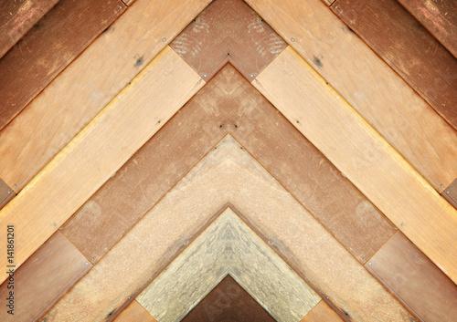 Fototapeta Abstract Texture of wood background closeup obraz na płótnie