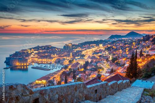 Dubrovnik, Croatia Canvas Print