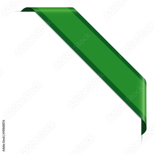 green corner banner buy this stock vector and explore similar