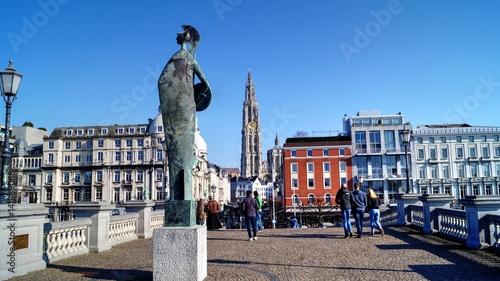 Poster Antwerp Anvers, Anversoise