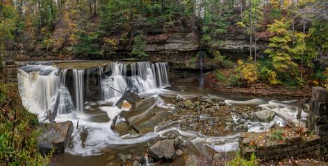 Fototapeta Great Falls of Tinker's Creek Gorge