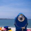 Binocular en la playa