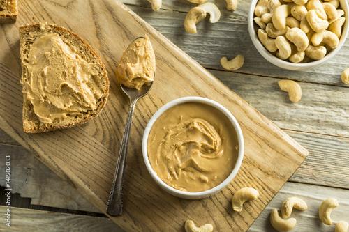 Valokuva  Homemade Cashew Peanut Butter