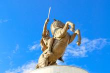 Skopje, Macedonia - Alexander The Great Monument