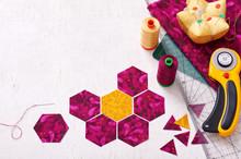 Preparation Of Hexagon Pieces ...