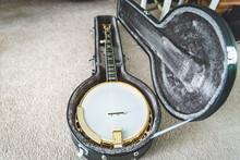 Beautiful Banjo In Custom Case