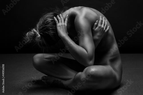 Obraz na płótnie Erotyczne zdjęcie w artystycznym wydaniu