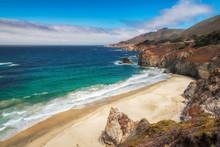 California Beach - Pacific Coastline.