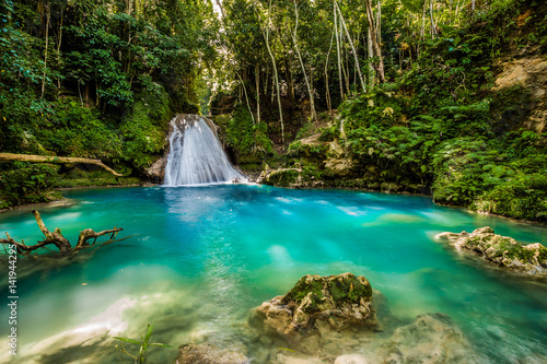 Photographie Blue hole waterfall