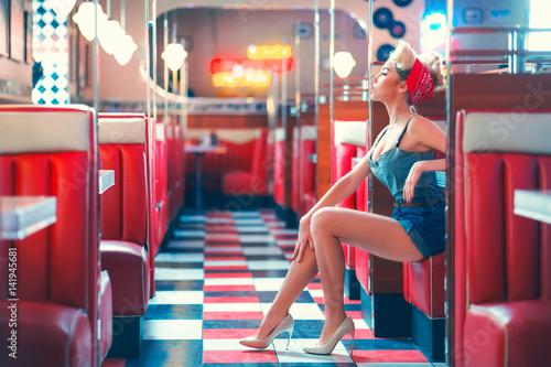 Photo  American girl