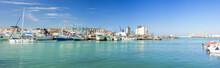 Panoramica Del Porto Di Ancona
