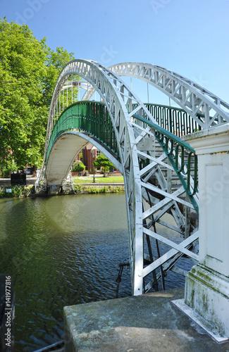Bedford UK suspension bridge Wallpaper Mural