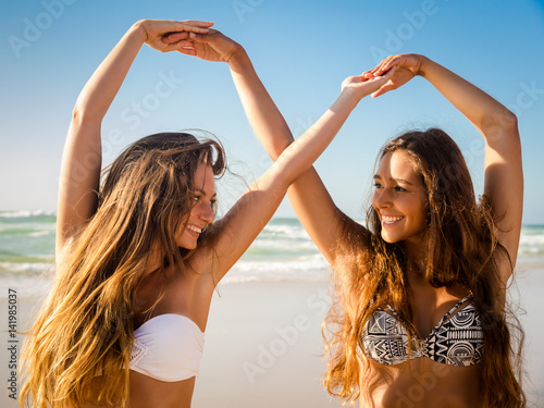 Fotografie, Obraz  We love beach