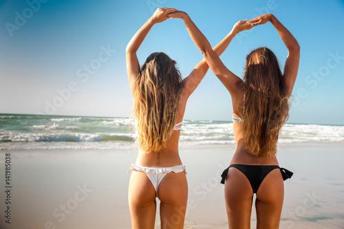 Fototapeta We love beach obraz na płótnie
