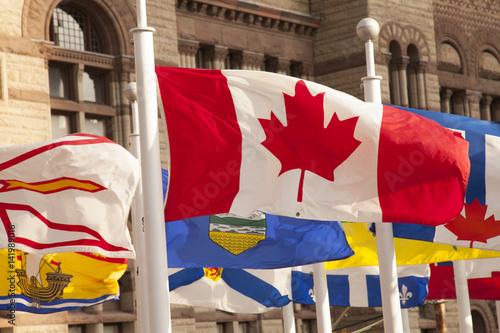 Stampe  Canada flag, Toronto