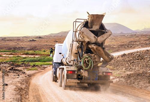 Fototapeta górna ciężarówka