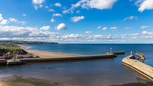 Whitby Pier And Beach, North Y...