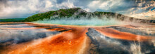 Prismatic Spring At Yellowston...