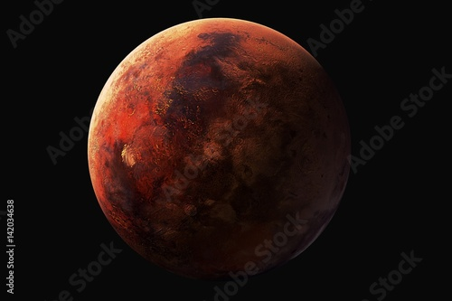 3D rendering,Venus resolution best quality solar system planet Canvas Print