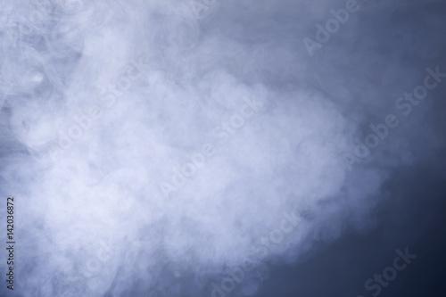 Stampa su Tela Stock photo of smoke and mist