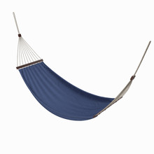 Blue Hammock -  3d Illustration Isolated On A White Background