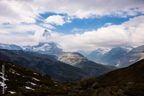 Poster Glaciers matterhorn (마테호른)