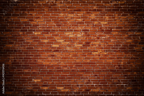 Photo sur Toile Brick wall brick wall street background for design, texture of old brickwork