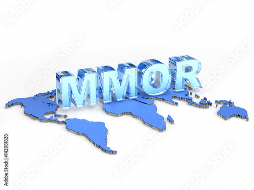 Photo MMOR acronym (massively multiplayer online racing)