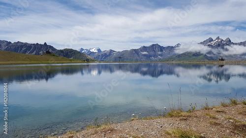 Lac de la Vieille, Valloire, Savoie, France