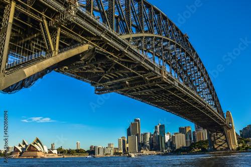 View under the Harbour Bridge © Kosit