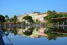 Effet Miroire Et Reflets, Coulée Verte à Nice