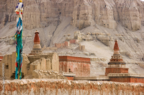 Poster  Tholing Monastery in the village of Sand (Guge Kingdom)