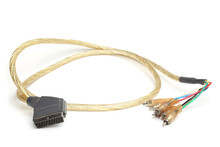 Cable 21 Pin Plug SCART Male T...