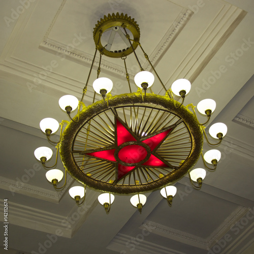 Opera, Theatre lighting fixture