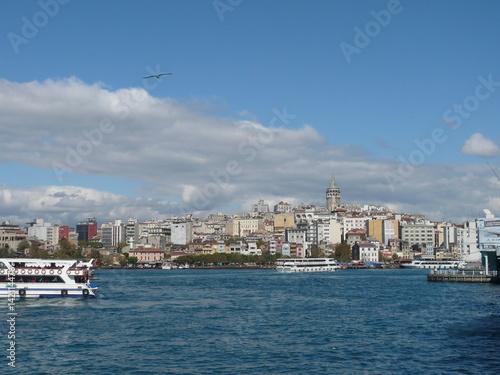 Foto auf Gartenposter Stadt am Wasser View at Istanbul
