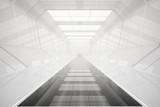 Fototapeta Perspektywa 3d - Abstract futuristic tunnel