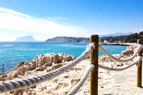 Fotografía  mediterranean coast from Moraira coastline