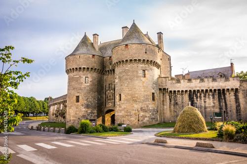 Cité médiévale de Guérande Canvas Print