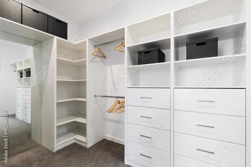 Cuadros en Lienzo  Large walk in wardrobe cabinetry detail