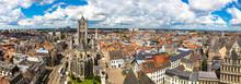 Panoramic View Of Gent