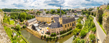 Panoramic Cityscape Of Luxembo...